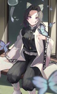 Rating: Safe Score: 30 Tags: harui_(huruyi_817) japanese_clothes kimetsu_no_yaiba kochou_shinobu tagme uniform User: Dreista