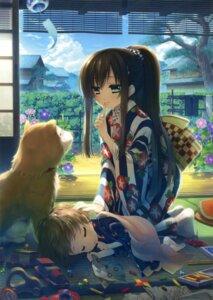 Rating: Safe Score: 67 Tags: katagiri_hinata kimono User: Twinsenzw