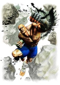 Rating: Safe Score: 3 Tags: capcom ikeno_daigo male sagat street_fighter street_fighter_iv User: Yokaiou