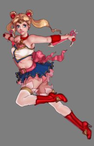 Rating: Safe Score: 8 Tags: cosplay heels sailor_moon see_through soul_calibur talim thighhighs transparent_png tsukino_usagi weapon User: Yokaiou