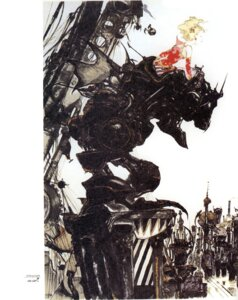 Rating: Safe Score: 6 Tags: amano_yoshitaka final_fantasy final_fantasy_vi mecha square_enix tina_branford User: blooregardo