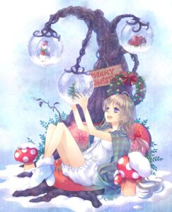 Rating: Safe Score: 19 Tags: bloomers christmas yamyom User: fireattack