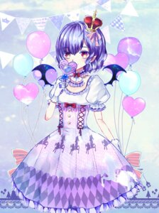 Rating: Safe Score: 23 Tags: dress ginzuki_ringo pointy_ears remilia_scarlet touhou wings User: Mr_GT