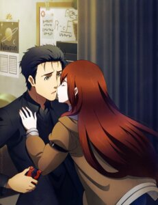 Rating: Safe Score: 26 Tags: makise_kurisu okabe_rintarou steins;gate steins;gate_0 tagme User: drop