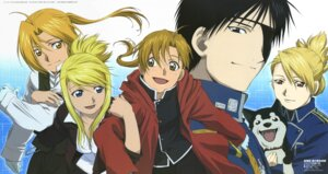 Rating: Safe Score: 5 Tags: alphonse_elric black_hayate edward_elric fullmetal_alchemist riza_hawkeye roy_mustang winry_rockbell User: charunetra