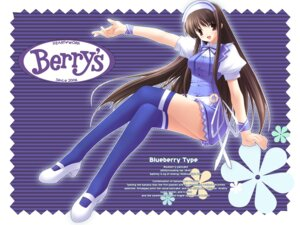 Rating: Safe Score: 17 Tags: berry's gennosuke thighhighs waitress wallpaper User: admin2
