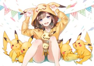 Rating: Safe Score: 70 Tags: miimmiim3333 mimikyu_(pokemon) pikachu pokemon_sm pokemon_trainer User: Mr_GT