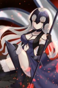Rating: Safe Score: 32 Tags: armor cleavage dress fate/grand_order heels jeanne_d'arc jeanne_d'arc_(alter)_(fate) tagme thighhighs User: Nepcoheart