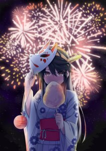 Rating: Safe Score: 40 Tags: @ichigo haruna_(kancolle) kantai_collection yukata User: SubaruSumeragi