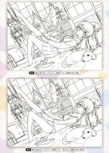 Rating: Safe Score: 21 Tags: bra kantoku kurumi_(kantoku) monochrome pantsu seifuku sketch thighhighs User: Hatsukoi