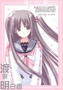 Rating: Safe Score: 5 Tags: nishimata_aoi oretachi_ni_tsubasa_wa_nai watarai_asuka User: syaoran-kun