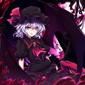 Rating: Safe Score: 22 Tags: dress remilia_scarlet touhou ugume weapon wings User: charunetra