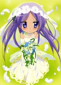 Rating: Safe Score: 39 Tags: dress hiiragi_kagami lucky_star ueno_chiyoko wedding_dress User: Elow69