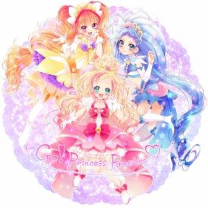 Rating: Safe Score: 15 Tags: amanogawa_kirara dress go!_princess_pretty_cure haruno_haruka heels kaidou_minami pretty_cure thighhighs uzuki_aki User: KazukiNanako