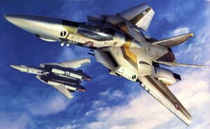 Rating: Safe Score: 1 Tags: macross mecha tenjin_hidetaka the_super_dimension_fortress_macross User: Radioactive