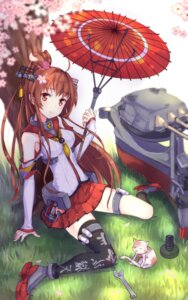 Rating: Safe Score: 46 Tags: heels kantai_collection neko thighhighs umbrella yamato_(kancolle) z_shichao User: Mr_GT