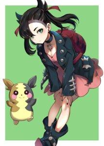 Rating: Safe Score: 20 Tags: cleavage dress mary_(pokemon) pokemon pokemon_sword_and_shield puca-rasu User: Nico-NicoO.M.
