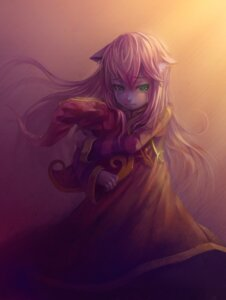 Rating: Safe Score: 32 Tags: animal_ears dress hick league_of_legends lulu_(league_of_legends) nekomimi User: charunetra