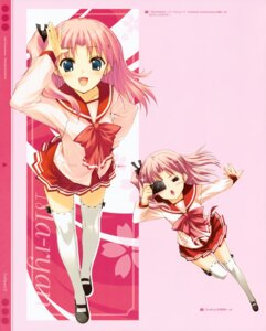 Rating: Safe Score: 28 Tags: kawata_hisashi leaf maaryan seifuku thighhighs to_heart_(series) to_heart_2 User: Kalafina