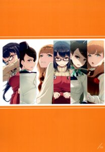 Rating: Questionable Score: 12 Tags: 40hara megane skirt_lift sweater uniform User: kiyoe