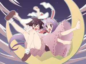 Rating: Safe Score: 17 Tags: inaba_tewi reisen_udongein_inaba studio_s.d.t. touhou wallpaper yuuki_tatsuya User: Anonymous