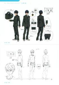 Rating: Safe Score: 10 Tags: character_design free! high_speed! male nanase_haruka nishiya_futoshi seifuku swimsuits User: kunkakun