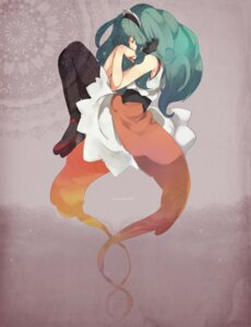 Rating: Safe Score: 15 Tags: hatsune_miku pantyhose satomo vocaloid User: Radioactive