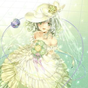 Rating: Safe Score: 36 Tags: dress jiinyo_(awamoe1207) komeiji_koishi touhou wedding_dress User: Mr_GT