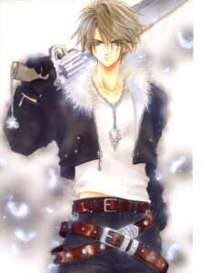 Rating: Safe Score: 17 Tags: adumi_tohru final_fantasy final_fantasy_viii male screening squall_leonhart User: Riven