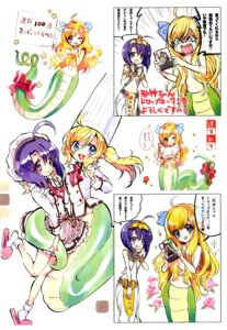 Rating: Questionable Score: 6 Tags: fukunoren jashin-chan_dropkick tagme yukiwo User: kiyoe
