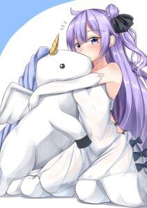 Rating: Safe Score: 41 Tags: azur_lane dress moyoron unicorn_(azur_lane) User: Mr_GT