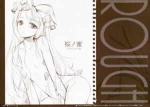 Rating: Questionable Score: 14 Tags: gekidoku_shoujo ke-ta loli monochrome sketch touhou User: Radioactive