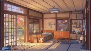 Rating: Safe Score: 44 Tags: arsenixc guitar headphones landscape wallpaper User: RyuZU