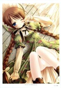Rating: Questionable Score: 67 Tags: cameltoe harukaze_setsuna lolita_fashion pantsu pantyhose tinkle User: crim