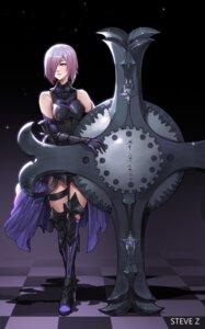 Rating: Safe Score: 26 Tags: armor fate/grand_order garter heels shielder_(fate/grand_order) steve_zheng User: Mr_GT