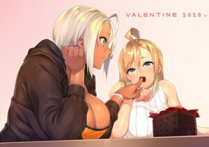 Rating: Questionable Score: 23 Tags: cleavage no_bra real_xxiii sweater valentine yuri User: Genex