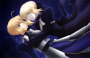 Rating: Safe Score: 28 Tags: armor cleavage dress fate/stay_night fate/stay_night_heaven's_feel mitsui_arisa saber saber_alter User: drop
