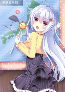 Rating: Safe Score: 45 Tags: dress mizuse_sakua umbrella User: Twinsenzw
