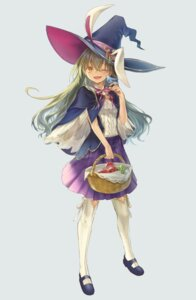 Rating: Safe Score: 17 Tags: animal_ears bunny_ears tagme tamu_(tamurarucaffe1226) thighhighs witch User: Dreista