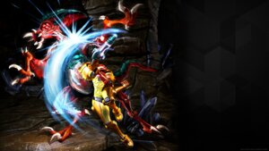 Rating: Questionable Score: 7 Tags: armor metroid monster nintendo samus_aran wallpaper User: fly24