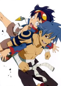 Rating: Safe Score: 15 Tags: kamina male simon tengen_toppa_gurren_lagann User: howagirlfigures