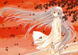 Rating: Safe Score: 17 Tags: chii chobits clamp dress fixed see_through summer_dress User: MosquitoJack