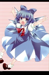 Rating: Safe Score: 15 Tags: cirno kyokutou_hanayome nini touhou User: Radioactive