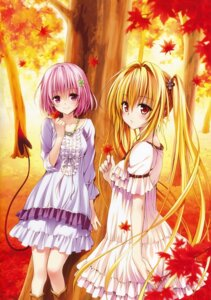 Rating: Safe Score: 129 Tags: dress golden_darkness momo_velia_deviluke motto_to_love_ru tail to_love_ru to_love_ru_darkness yabuki_kentarou User: Twinsenzw