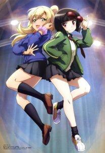 Rating: Safe Score: 17 Tags: kusaba_eru maesetsu! megane seifuku sweater waraino_arashi yamauchi_naoki User: drop