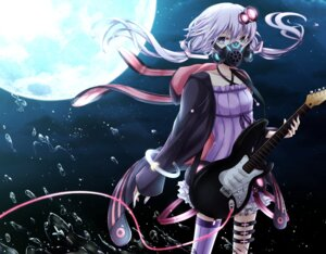 Rating: Safe Score: 27 Tags: guitar open_shirt thighhighs vocaloid yamagara yuzuki_yukari User: Mr_GT