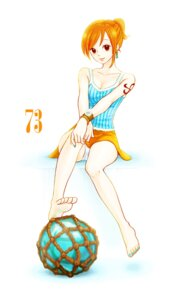Rating: Safe Score: 15 Tags: biafura nami one_piece pantsu User: Radioactive