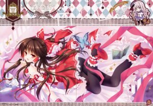Rating: Safe Score: 60 Tags: ass crease fixme hakurei_reimu heels pantyhose tatekawa_mako touhou wnb User: b923242