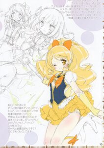 Rating: Questionable Score: 9 Tags: aikatsu! happiness_charge_precure! hikami_sumire kamiya_maneki manekineko oomori_yuuko oozora_akari pretty_cure sketch User: Radioactive