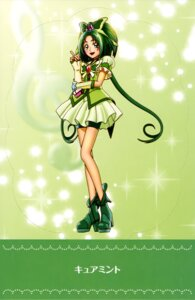 Rating: Questionable Score: 8 Tags: akimoto_komachi bike_shorts dress heels pretty_cure yes!_precure_5 User: drop